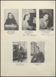 Page 14, 1949 Edition, Dalhart High School - Lone Wolf Yearbook (Dalhart, TX) online yearbook collection