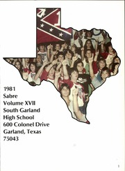Page 5, 1981 Edition, South Garland High School - Sabre Yearbook (Garland, TX) online yearbook collection