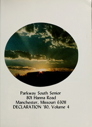 Page 5, 1980 Edition, Parkway South High School - Declaration Yearbook (Manchester, MO) online yearbook collection