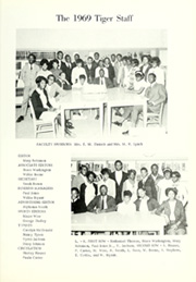 Page 9, 1969 Edition, A S Staley High School - Tiger Yearbook (Americus, GA) online yearbook collection