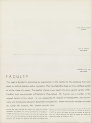 Page 12, 1940 Edition, Eagle Rock High School - Totem Yearbook (Los Angeles, CA) online yearbook collection