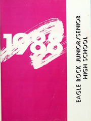 Page 5, 1988 Edition, Eagle Rock High School - Totem Yearbook (Los Angeles, CA) online yearbook collection
