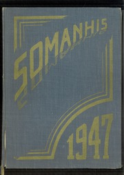 1947 Edition, Manchester High School - Somanhis Yearbook (Manchester, CT)