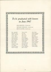 Page 15, 1947 Edition, Manchester High School - Somanhis Yearbook (Manchester, CT) online yearbook collection