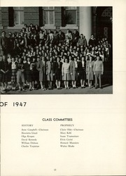Page 17, 1947 Edition, Manchester High School - Somanhis Yearbook (Manchester, CT) online yearbook collection