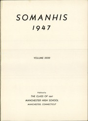 Page 5, 1947 Edition, Manchester High School - Somanhis Yearbook (Manchester, CT) online yearbook collection