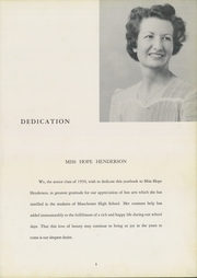 Page 7, 1950 Edition, Manchester High School - Somanhis Yearbook (Manchester, CT) online yearbook collection