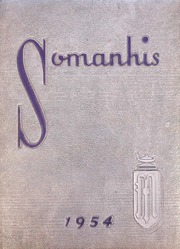 1954 Edition, Manchester High School - Somanhis Yearbook (Manchester, CT)