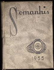 1955 Edition, Manchester High School - Somanhis Yearbook (Manchester, CT)