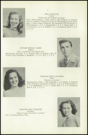 Page 13, 1947 Edition, Glastonbury High School - Reflections Yearbook (Glastonbury, CT) online yearbook collection