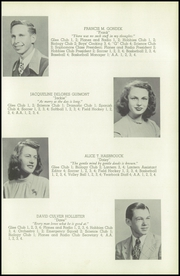 Page 17, 1947 Edition, Glastonbury High School - Reflections Yearbook (Glastonbury, CT) online yearbook collection