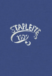 1939 Edition, Staples High School - Stapleite Yearbook (Westport, CT)