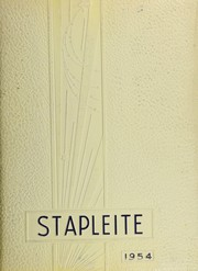 1954 Edition, Staples High School - Stapleite Yearbook (Westport, CT)