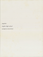 Page 5, 1966 Edition, Staples High School - Stapleite Yearbook (Westport, CT) online yearbook collection