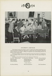 Page 44, 1946 Edition, Gilbert School - Miracle Yearbook (Winsted, CT) online yearbook collection