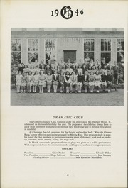 Page 46, 1946 Edition, Gilbert School - Miracle Yearbook (Winsted, CT) online yearbook collection