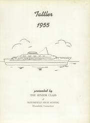 Page 9, 1955 Edition, Bloomfield High School - Tattler Yearbook (Bloomfield, CT) online yearbook collection