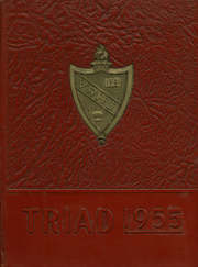 1955 Edition, Valley Regional High School - Triad Yearbook (Deep River, CT)