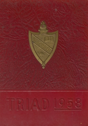 1958 Edition, Valley Regional High School - Triad Yearbook (Deep River, CT)