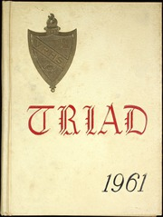 1961 Edition, Valley Regional High School - Triad Yearbook (Deep River, CT)