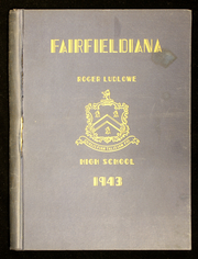 Page 1, 1943 Edition, Roger Ludlowe High School - Fairfieldiana Yearbook (Fairfield, CT) online yearbook collection