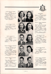 Page 17, 1943 Edition, Roger Ludlowe High School - Fairfieldiana Yearbook (Fairfield, CT) online yearbook collection