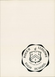 Page 5, 1951 Edition, Roger Ludlowe High School - Fairfieldiana Yearbook (Fairfield, CT) online yearbook collection