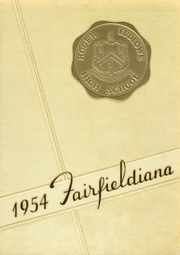 1954 Edition, Roger Ludlowe High School - Fairfieldiana Yearbook (Fairfield, CT)