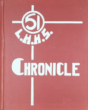 1951 Edition, Lyman Hall High school - Chronicle Yearbook (Wallingford, CT)