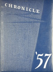 1957 Edition, Lyman Hall High school - Chronicle Yearbook (Wallingford, CT)