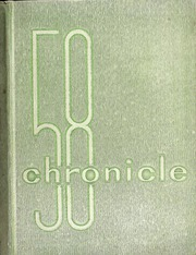 1958 Edition, Lyman Hall High school - Chronicle Yearbook (Wallingford, CT)