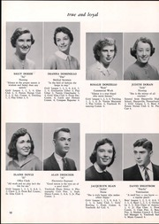 Page 16, 1958 Edition, Lyman Hall High school - Chronicle Yearbook (Wallingford, CT) online yearbook collection