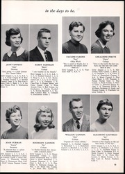 Page 17, 1958 Edition, Lyman Hall High school - Chronicle Yearbook (Wallingford, CT) online yearbook collection