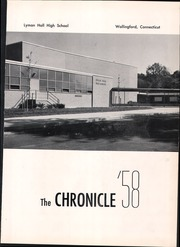 Page 5, 1958 Edition, Lyman Hall High school - Chronicle Yearbook (Wallingford, CT) online yearbook collection