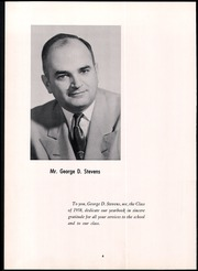 Page 8, 1958 Edition, Lyman Hall High school - Chronicle Yearbook (Wallingford, CT) online yearbook collection
