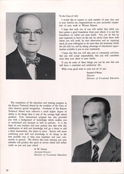 Page 16, 1961 Edition, Kaynor Regional Vocational Technical High School - Panther Yearbook (Waterbury, CT) online yearbook collection