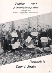 Page 7, 1961 Edition, Kaynor Regional Vocational Technical High School - Panther Yearbook (Waterbury, CT) online yearbook collection