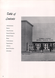 Page 8, 1961 Edition, Kaynor Regional Vocational Technical High School - Panther Yearbook (Waterbury, CT) online yearbook collection