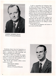 Page 8, 1965 Edition, Kaynor Regional Vocational Technical High School - Panther Yearbook (Waterbury, CT) online yearbook collection