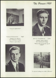 Page 17, 1951 Edition, Suffield Academy - The Pioneer Yearbook (Suffield, CT) online yearbook collection