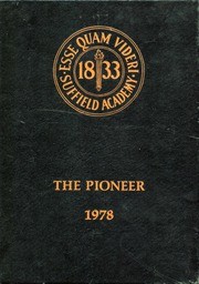 1978 Edition, Suffield Academy - The Pioneer Yearbook (Suffield, CT)