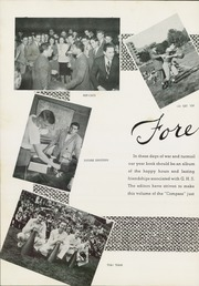 Page 8, 1943 Edition, Greenwich High School - Compass Yearbook (Greenwich, CT) online yearbook collection