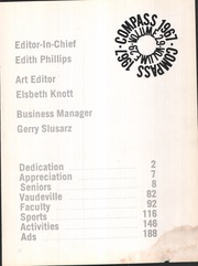 Page 5, 1967 Edition, Greenwich High School - Compass Yearbook (Greenwich, CT) online yearbook collection