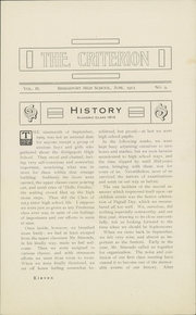 Page 13, 1913 Edition, Bridgeport Central High School - Criterion Yearbook (Bridgeport, CT) online yearbook collection