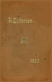 Page 1, 1922 Edition, Bridgeport Central High School - Criterion Yearbook (Bridgeport, CT) online yearbook collection