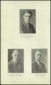 Page 12, 1922 Edition, Bridgeport Central High School - Criterion Yearbook (Bridgeport, CT) online yearbook collection