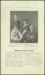 Page 14, 1922 Edition, Bridgeport Central High School - Criterion Yearbook (Bridgeport, CT) online yearbook collection