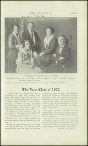 Page 15, 1922 Edition, Bridgeport Central High School - Criterion Yearbook (Bridgeport, CT) online yearbook collection