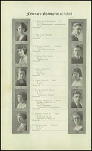 Page 16, 1922 Edition, Bridgeport Central High School - Criterion Yearbook (Bridgeport, CT) online yearbook collection