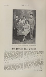 Page 16, 1926 Edition, Bridgeport Central High School - Criterion Yearbook (Bridgeport, CT) online yearbook collection